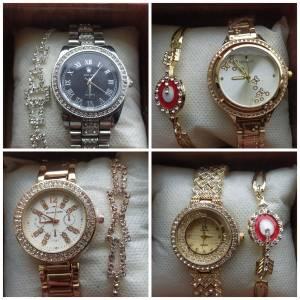 Constantine-Mode-Beaute-كوفري-ساعة-نساء-(-ساعة،-براسلي-،-علبة-)-السعر-: