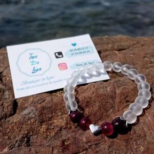 Alger-Mode-Beaute-bracelet-a-base-de-Pierres-semi-précieuses-pour-fe