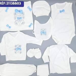 Alger-Bébé-Enfant-Coffret-ensemble-bébé-cristal-10-pièce